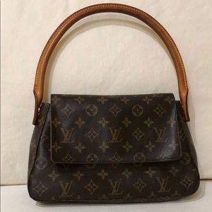 Louis Vuitton Mini Looping Monogram Bag
